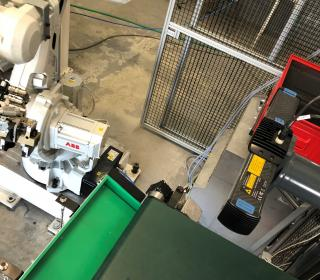 Odebírání robotem pomocí 3D skeneru 2