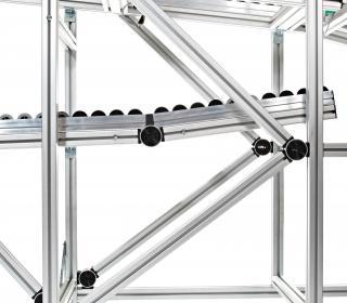 Systém spojování hliníkových profilů